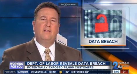 Dept. of Labor reveals data breach potentially exposing 78,000 customers