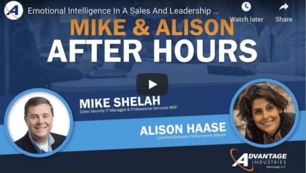Mike And Alison After Hours — Key Skills For Salespeople
